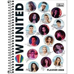 Planner Espiral Now United M7 2022 Tilibra