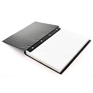Pasta Catalogo Oficio 100 Envelopes 0,12 Preta ACP