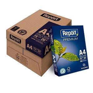 PAPEL OFICIO REPORT PREMIUM A4 75G RESMA CX C/10 RESMAS REPORT