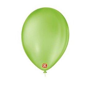 Balão Liso 6.5 Verde Limão C/50 Gran Festa