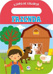 Livro de Colorir - Fazenda - Ciranda Cultural