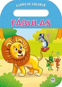 Livro de Colorir - Fabulas - Ciranda Cultural