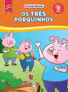 Livro Contos Clássicos - Os Tres Porquinhos - Ciranda Cultural