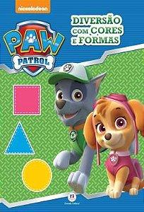 Livro Patrulha Canina - Diversao com Cores e Formas - Ciranda Cultural