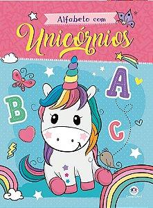 Livro Alfabeto com Unicornios Ciranda Cultural