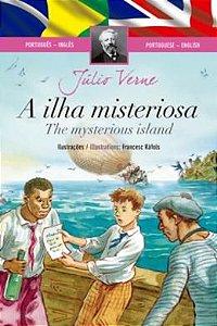 Livro Clássicos Bilíngues A Ilha Misteriosa Ciranda Cultural