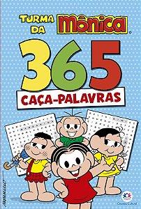 Livro 365 Caça-Palavras Turma da Monica Ciranda Cultural