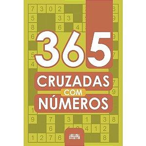 Livro 365 Cruzadas com Numeros Ciranda Cultural