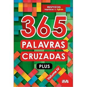 Livro 365 Palavras Cruzadas Plus - Volume IV - Ciranda Cultural