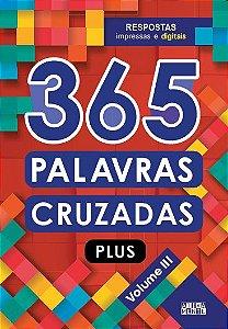 Livro 365 Palavras Cruzadas Plus - Volume III - Ciranda Cultural