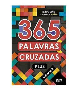 Livro 365 Palavras Cruzadas Plus - Volume II - Ciranda Cultural