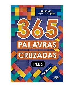 Livro 365 Palavras Cruzadas Plus - Volume I - Ciranda Cultural