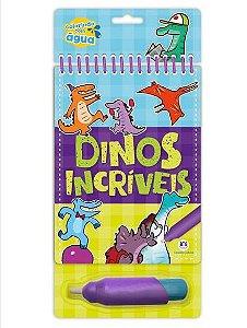 Livro Aquabook Dinos Incriveis Ciranda Cultural