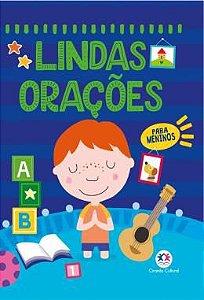Livro Lindas Oracoes para Meninos Ciranda Cultural