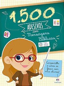1500 Adesivos para Professores - Mensagens Biblicas - Ciranda Cultural
