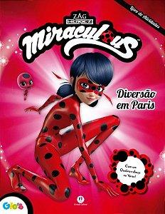 Livro de Atividades Ladybug - Diversao em Paris - Ciranda Cultural