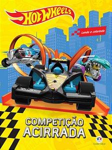 Livro Hot Wheels - Competicao Acirrada - Ciranda Cultural