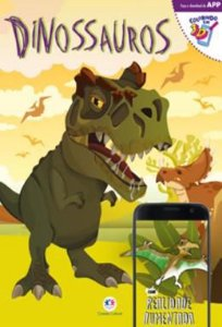 Livro de Colorir Dinossauros Ciranda Cultural