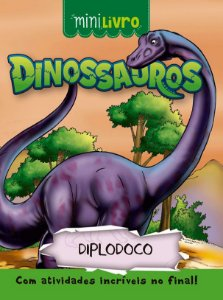 Minilivro Dinossauros - Diplodoco - Ciranda Cultural