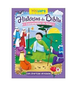 Minilivro Historias da Biblia - Ensinamentos de Jesus - Ciranda Cultural