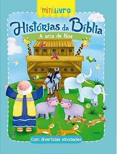 Minilivro Historias da Biblia - A Arca de Noe - Ciranda Cultural