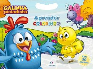 Livro de Colorir Galinha Pintadinha - Aprender Colorindo - Ciranda Cultural