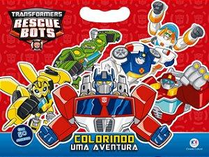 Livro de Colorir Transformers - Colorindo uma Aventura - Ciranda Cultural