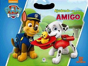 Livro Patrulha Canina - Ajudando um Novo Amigo - Ciranda Cultural