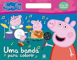 Livro Peppa Pig - Uma Banda para Colorir - Ciranda Cultural