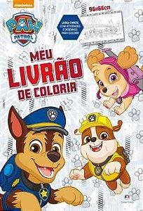 Livro Patrulha Canina - Meu Livrao de Colorir - Ciranda Cultural