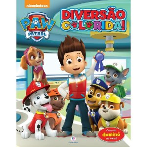 Livro Diversão Colorida Patrulha Canina Ciranda Cultural