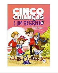 Livro Cinco Criancas e um Segredo Ciranda Cultural