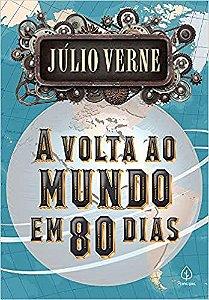 Livro A volta ao Mundo em 80 dias Ciranda Cultural
