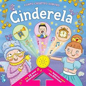Livro Sonoro Cinderela Ciranda Cultural