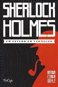 Livro Sherlock Holmes - Um Estudo em Vermelho - Ciranda Cultural
