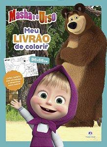 Livro Masha e o Urso - Meu Livrao de Colorir - Ciranda Cultural
