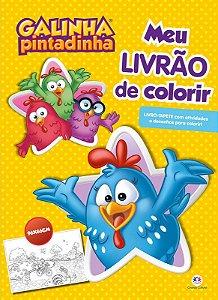 Livro Galinha Pintadinha - Meu Livrao de Colorir - Ciranda Cultural