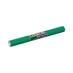 Papel Contact Verde Escuro 45cmx2m 70 Micras Colacril