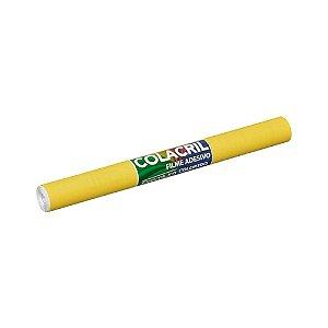Papel Contact Amarelo 45cmx2m 70 Micras Colacril