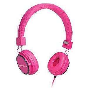 Fone de Ouvido Headphone Fun Rosa PH088 Multilaser