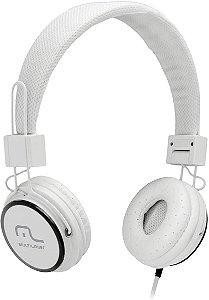 Fone de Ouvido Headphone Fun Branco PH087 Multilaser