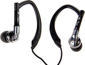 Fone Auricular Earhook Sport Preto P2 PH019 Multilaser