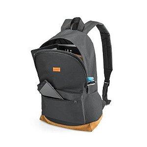 Mochila para Notebook Backpack 15.6 Polegadas Preta e Marrom BO407 Multilaser