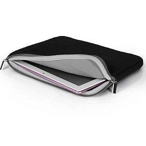 Case Neoprene Para Notebook 15.6 Polegadas Preto e Cinza BO400 Multilaser