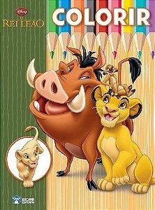 Livro Disney Colorir e Aprender - O Rei Leão - Rideel