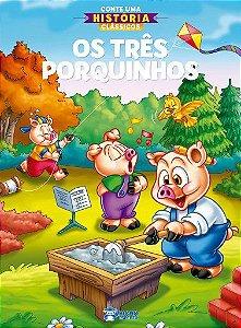 Livro Conte uma História Clássicos - Os Três Porquinhos - Rideel