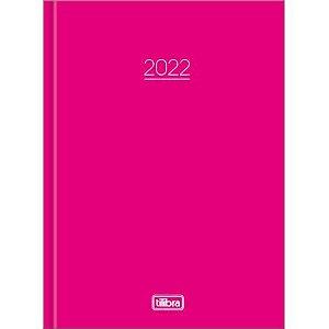 Agenda Costurada Pepper M4 Rosa 2022 Tilibra