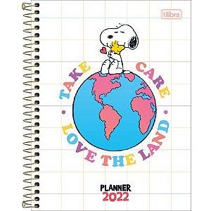 Planner Espiral Snoopy M7 2022 Tilibra