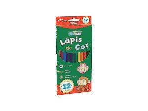 Lapis De Cor C/12 Grande Madeira Leo&Leo