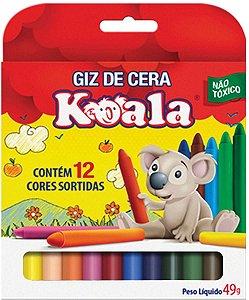 Lapis Giz De Cera C/12 Pequeno Koala